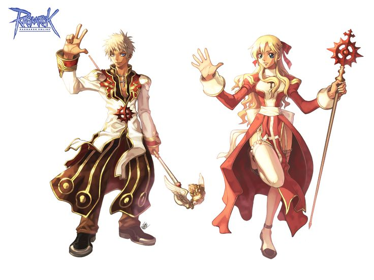 5 7 Anime Characters : Ragnarok online high priest concept art pinterest
