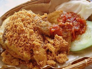 Original Indonesian Recipe: Ayam Goreng Penyet (Indonesian Smashed Fried Chicken)