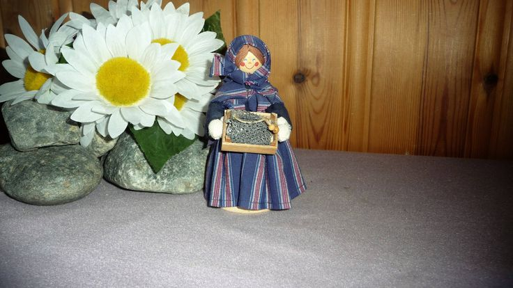 Vintage Swedish Bibi Larsen Doll, Folklore Figurine, Sweden Folk Art National Costume Scandinavian Design by Grandchildattic on Etsy