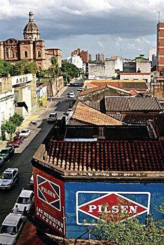 Güney Amerika'da sömürge seferleri Asuncion'dan başlamıştı