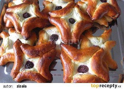 Rohlíčkové koláčky recept - TopRecepty.cz