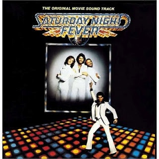 "Saturday Night Fever soundtrack album from 1977. Classic soundtrack full of pop gems that have stood the test of time from The Bee Gees but also including Yvonne Elliman's ""If I Can't Have You"" and The Trammps ""Disco Inferno"". Hard not to dance to this music!"