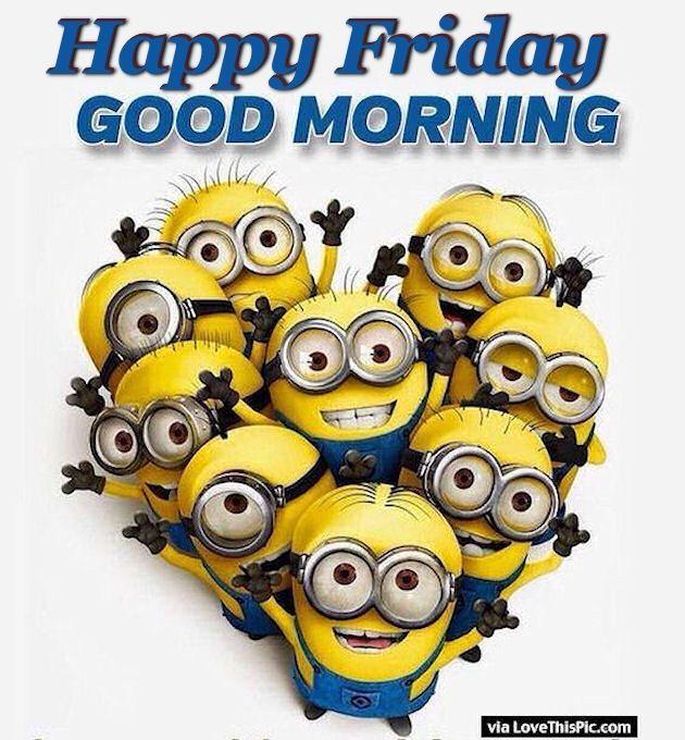 The 25 best good morning minions ideas on pinterest funny good happy friday good morning minions funny minionminion moviequotes voltagebd Gallery