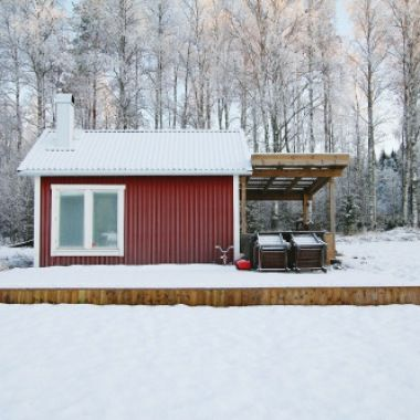 Off-grid Cabin In Northern Sweden.Contributed ByMagnus...