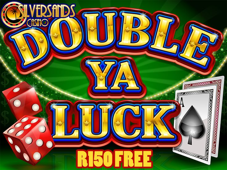 DOUBLE YA LUCK SLOT GAME - GET R150 FREE @ #SILVERSANDSCASINO  Silver Sands Casino is happy to announce the launch of a new slot game, Double Ya Luck.  To celebrate the launch of the #newslotgame, they are currently running a promotion to their #SouthAfricancasino players  Get a R150 Free No Deposit Bonus to try out Double Ya Luck!  Play Now : http://www.onlinecasinosonline.co.za/goto/silver-sands-casino.html