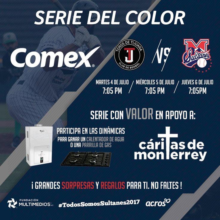 El próximo martes, habrá serie con valor en apoyo a nuestros amigos de Cáritas de Monterrey. #TodosSomosSultanes