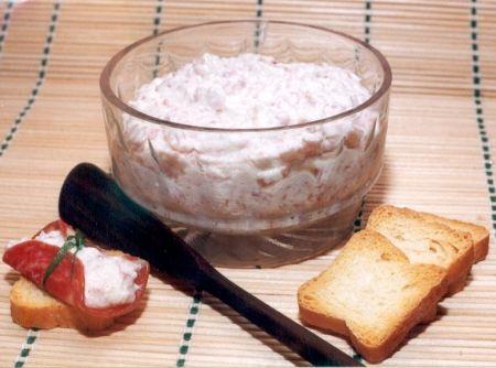 Receita de Patê de Salame - salame italiano , base de ricota para patês, maionese