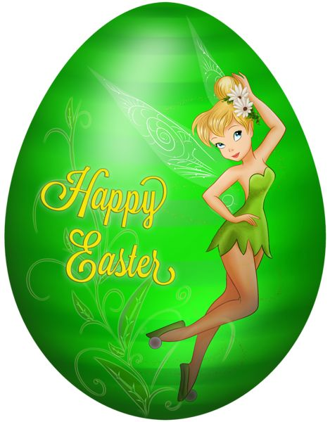 Kids Easter Egg Tinkerbell PNG Clip Art Image Easter