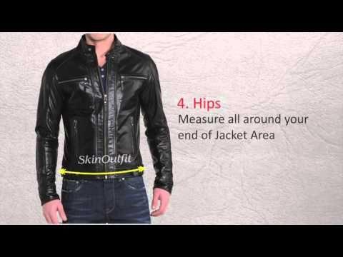 """Hoe kies je de juiste maat leren jas voor heren - How To choose the right size leather coat for men #Leren #heren #jas - """"100% echt leer"""" - #Lederen heren #jassen bij BK Leder"""