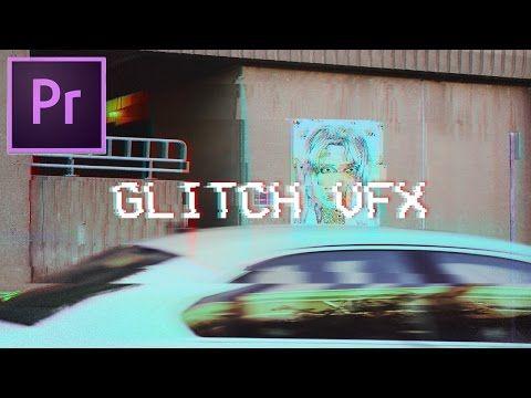 How to Make Glitch Video Effects in Adobe Premiere Pro CC 2017 Tutorial (VCR VHS Glitch Art Edit) - YouTube