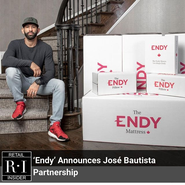 Mattress In A Box Competition Heats Up As Endy Announces Jose Bautista Partnership Its The Latest Marketing Move In The Hyper C Partnership Endy Jose Bautista