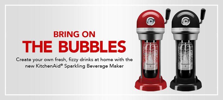 "Sparkling Beverage Makers | KitchenAid"""