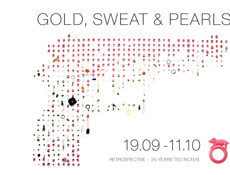 """Retrospective Ted Noten - 25 years"" 19sept-11Oct 2014 - Gallery Putti - LV -  http://putti.lv/"