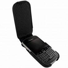 Forro BlackBerry Bold 9900-9930 Piel Frama iMagnum - Negra  Bs.F. 563,39