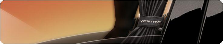 Шторы для автомобиля Вестито черные