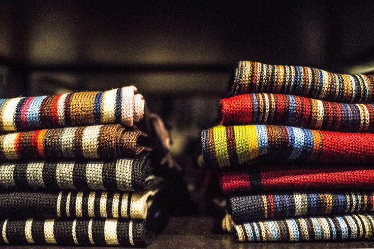The Scarf selection at Sauma. Photo (c) Risto Kantola