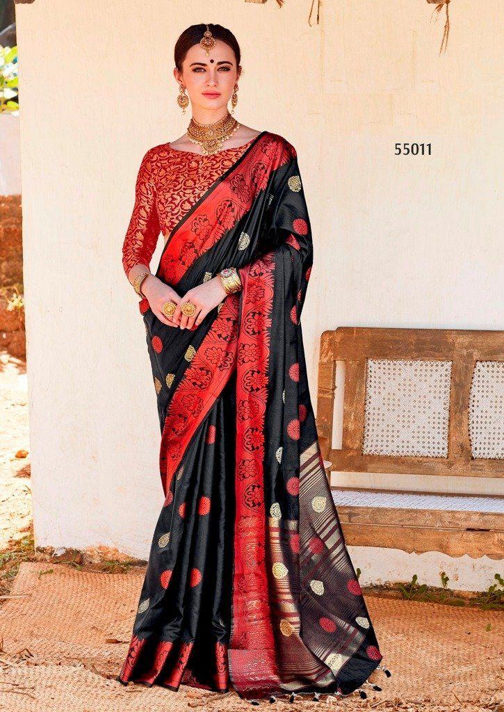 b211c43593 Ravishing Cotton Silk Embroidered Party Wear Saree in 2019 | sarees ...