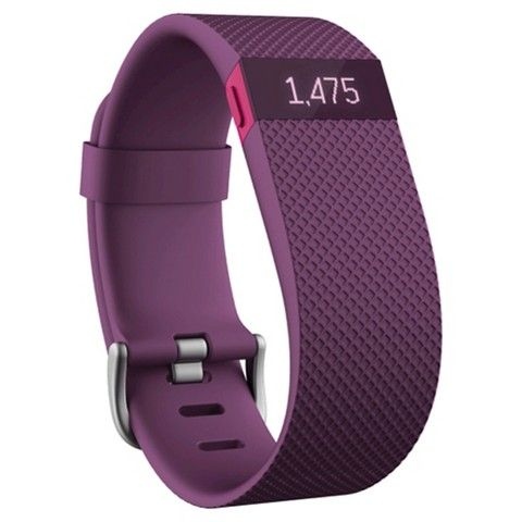 Fitbit Charge HR Heart Rate and Activity Tracker & Sleep Wristband Small - Plum (FB405PMST)
