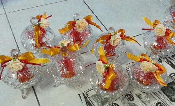 Candy sugar bowl #doorgift