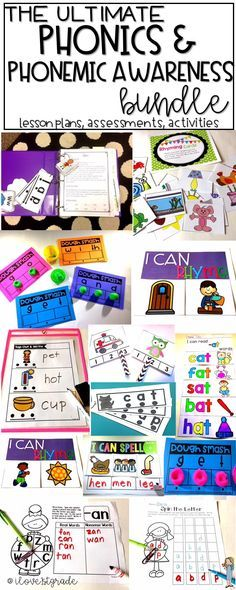 1287 pages and growing! This growing bundle will have 36 weeks of phonics and phonemic awareness instruction PLUS everything you need to reinforce concepts learned.  Centers, assessments, books, lesson plans, activities--this is the motherload of phonica