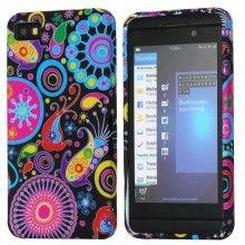 Forro BlackBerry Z10 - Gel Flower Power 1  Bs.F. 50,38