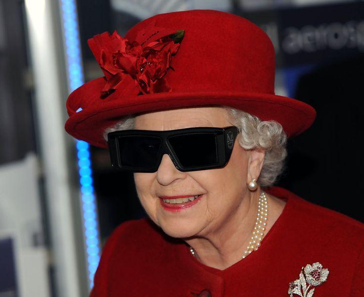 Queen Elizabeth, November 17,  2010  in Rachel Trevor Morgan