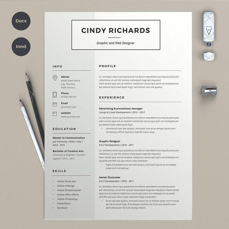 Un CV graphique original et unique pour assurer toutes vos chances lors de votre recherche d'emploi