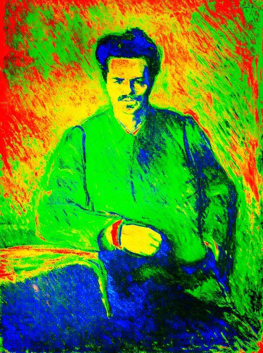 August Strindberg. Swedish author 5