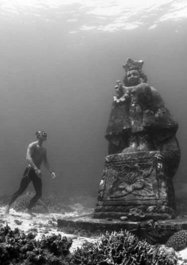 Underwater grotto, Bohol, Philippines
