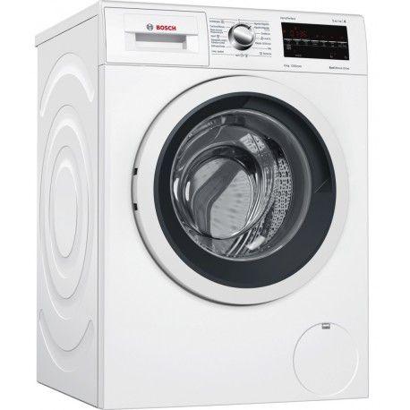 """766""""66€ bosch Llévate a casa a unas de mejores lavadoras como es la WAT24469ES dispone de Ecómetro que indica en el display el consumo teórico de agua y energía"""
