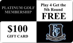 East Coast Golf Management Announces Addition of $100 Gift Card for 2015 Platinum Golf Membership