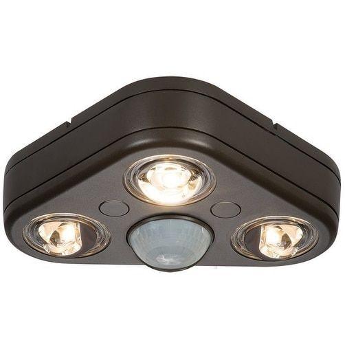 All-Pro REV32735M Revolve Motion Sensing LED Outdoor Flood Light, 120 V, Silver aluminum