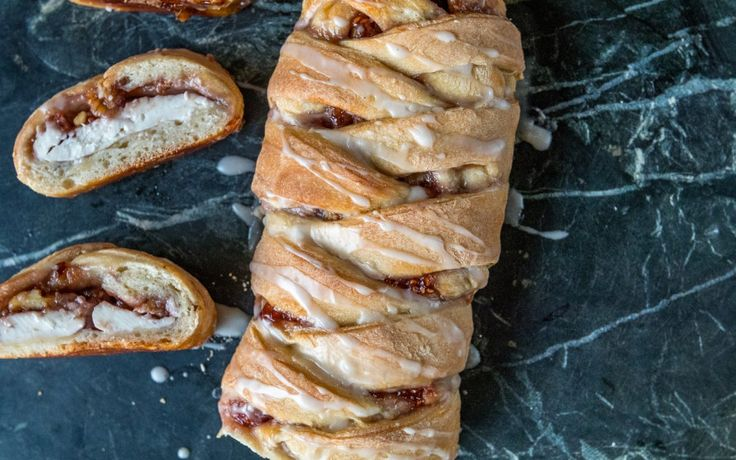 <p>Making pastries might seem like a difficult task, but this braided cream cheese and jam Danish will change your mind about that!</p>