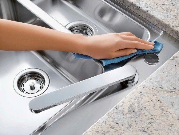 Lavaplatos de acero inoxidable | Cómo limpiar ab losolutamente (casi) todas y cada una de las cosas