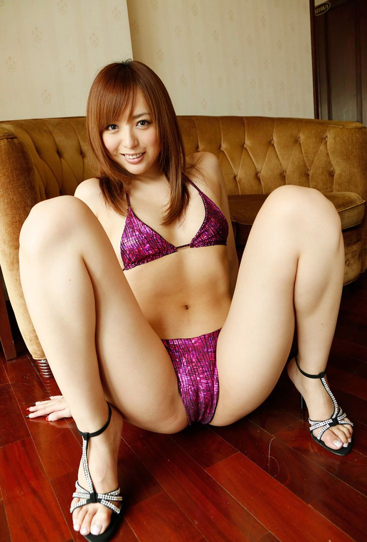 Girl open legs during backstage photoshoot 4