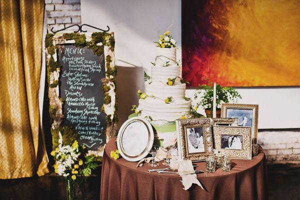 Romantic Chic Atlanta Wedding
