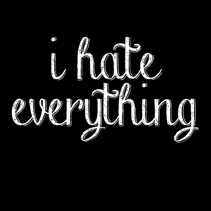 I hate everything shirt. -wickedmoxie- . This listing is for our Unisex Tee. Click the links below for other shirt options. 3X - 4X - 5X Shirts American Apparel Shirts Ladies Shirts Kids Shirts . All