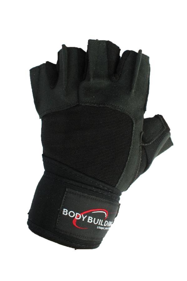 Elite Gloves m/håndledsstøtte - 175 kr. - http://www.bodyman.dk/shop/elite-gloves-m-7280p.html?utm_source=partnerads