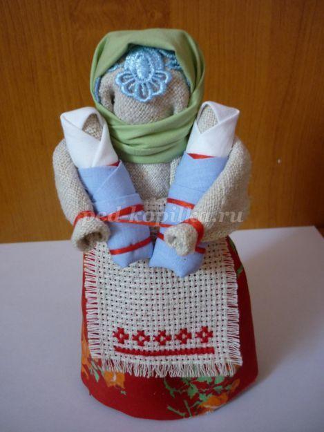 Традиционная народная кукла своими руками. Мастер-класс