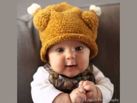 Loom Knit Baby Headband - YouTube