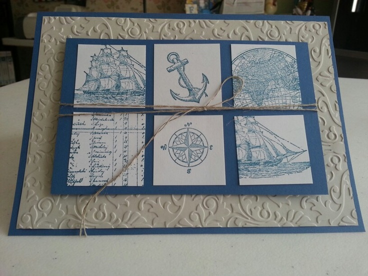 The open sea crafts stamping amp paper pinterest