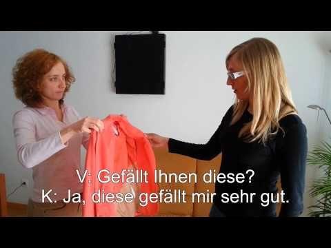Jacke kaufen comprar chaqueta - YouTube - Kleidung kaufen