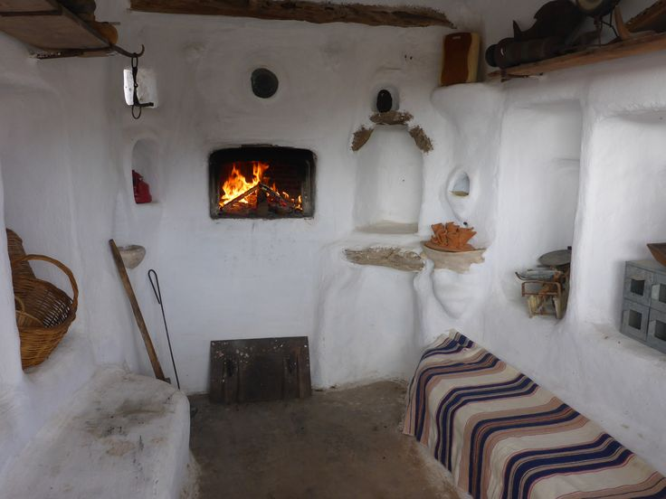 The wood oven house at our vineyard, Mykonos Vioma organic farm
