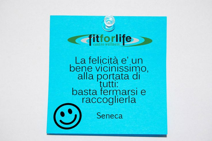 Buon lunedì! | Fit for Life
