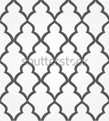 Абстрактный Узор В Арабском Бесшовные Векторные Черно Белые Текстуры стоковый вектор - Clipart.me
