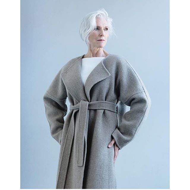 The forever inspiring @mayemusk in our F16 Beuy's Coat, styled by @carolinaorrico for @wmag #fall16 #mayemusk #protagonistwomen