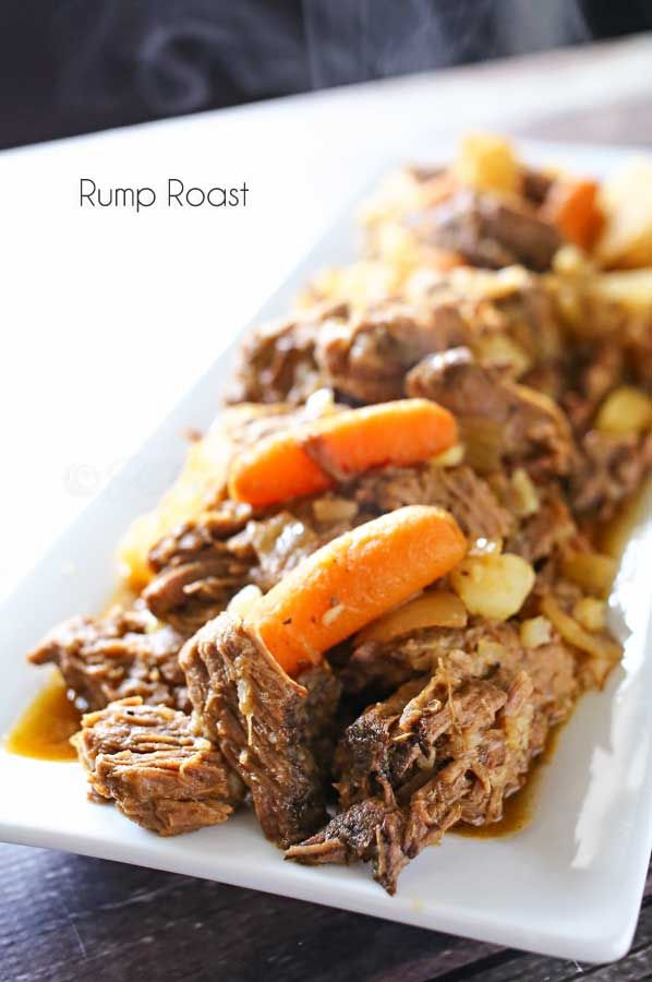 CROCK POT RUMP ROAST RECIPE. Not the healthiest but good on occasion for my meat eaters. Def use grass fed beef