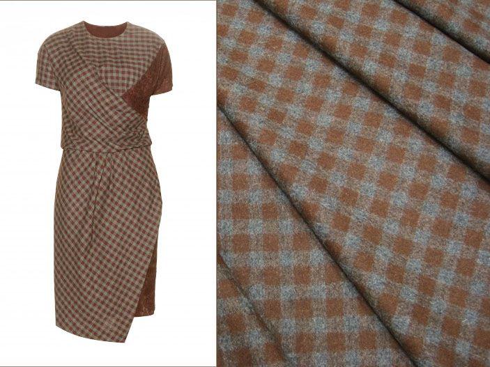 Костюмная ткань E.Zegna, артикул K217. Купить шерстяную ткань в магазине Итальянские ткани с доставкой.