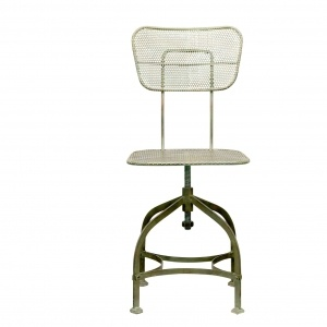 Silla verde antique