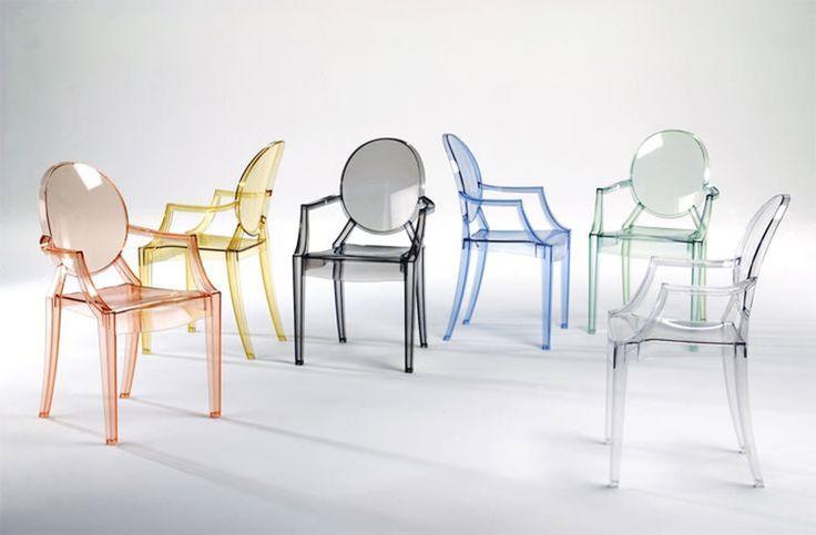 Cadeira Louis Ghost: um moderno equilibrio de design, elegância e função - limaonagua